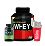 100% WHEY GOLD STANDARD 2.27 kg + BCAA 1000 200 Caps + SHAKER