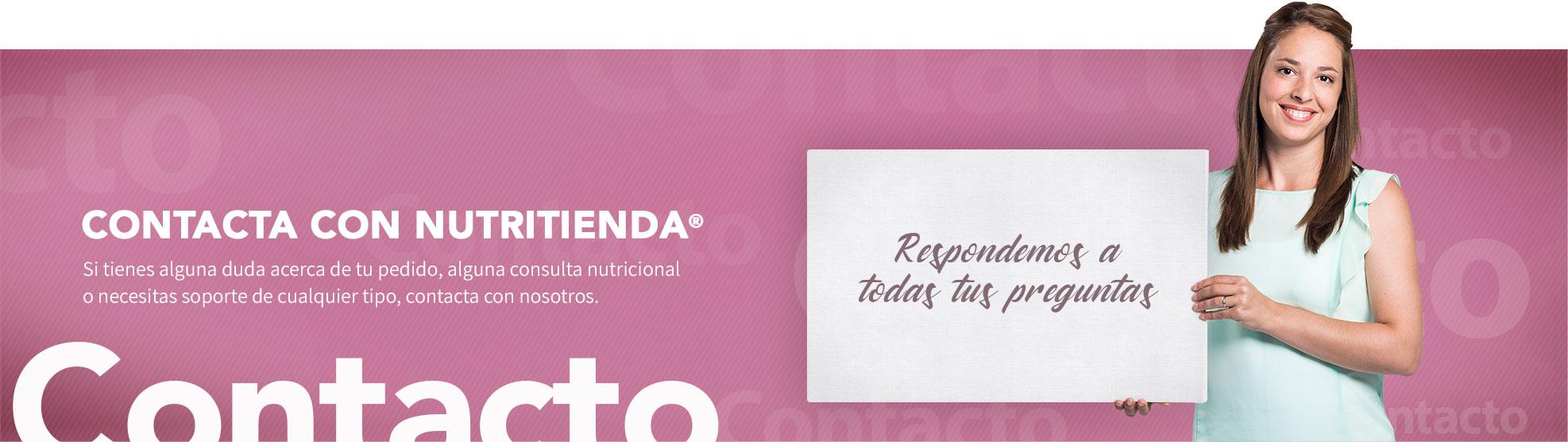 contacta con NutriTienda